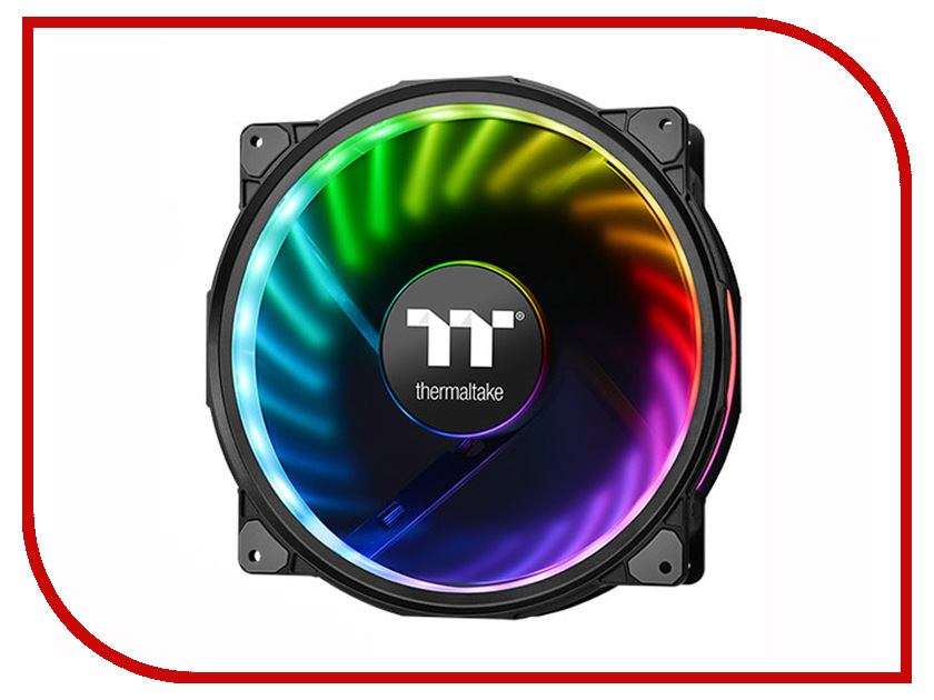 Вентилятор Thermaltake Fan Tt Premium Riing Plus 20 RGB CL-F069-PL20SW-A контроллер thermaltake fan f6 rgb ac 024 bn1nan a1