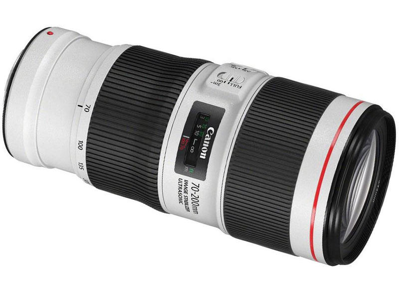 лучшая цена Объектив Canon EF 70-200mm f/4L IS II USM