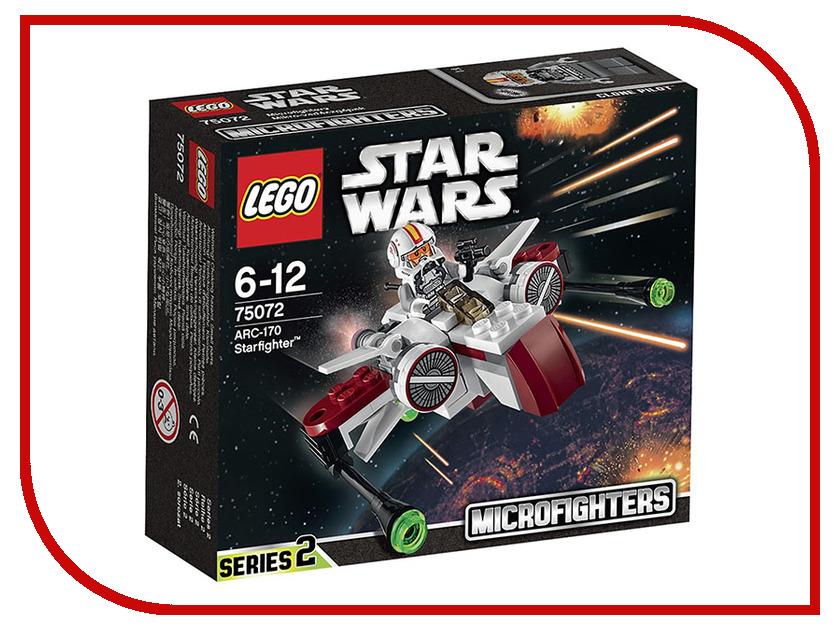 Конструктор Lego Star Wars Звездный истребитель ARC-170 75072 конструктор lego star wars истребитель затмения 75145