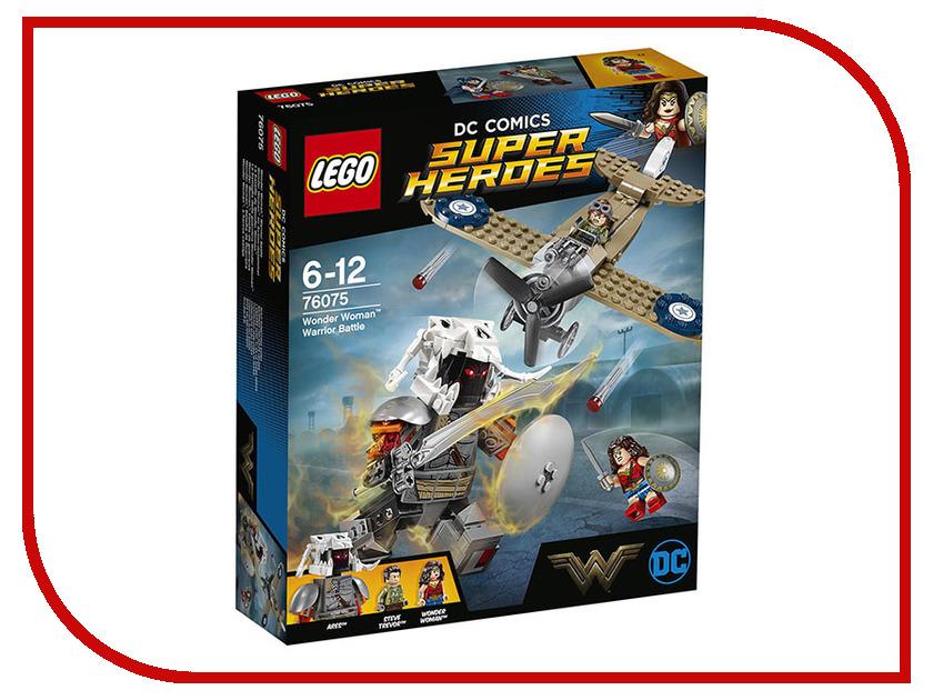 Конструктор Lego DC Super Heroes Битва Чудо-женщины 76075 lego batman 2 dc super heroes [pc цифровая версия] цифровая версия