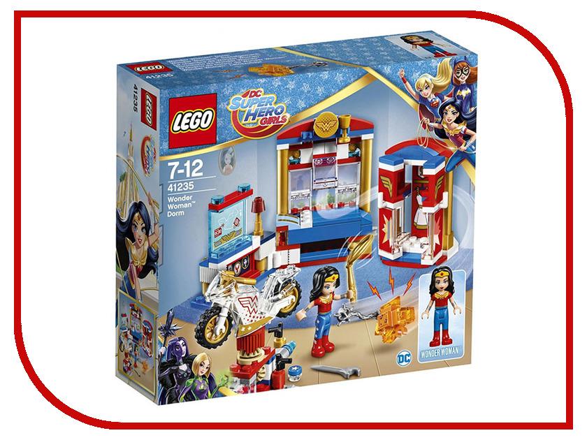Конструктор Lego DC Super Hero Girls Комната Чудо-женщины 41235 конструктор lego dc super hero girls 41232 школа супергероев