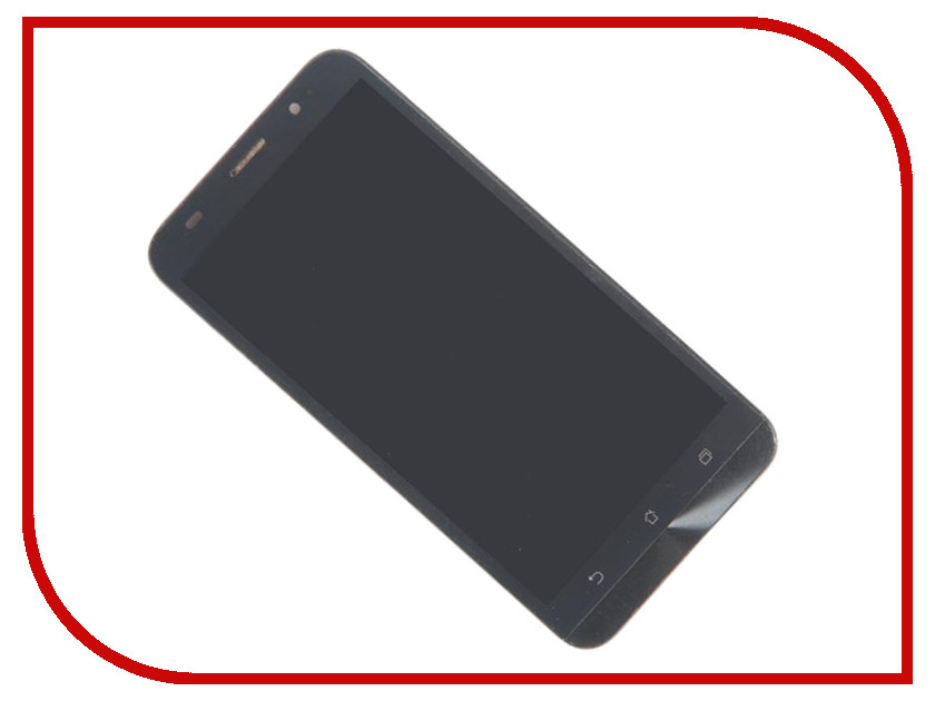 Дисплей Zip для ASUS ZenFone 2 ZE551ML 5.5 Black 479936 knot front zip up back skirt