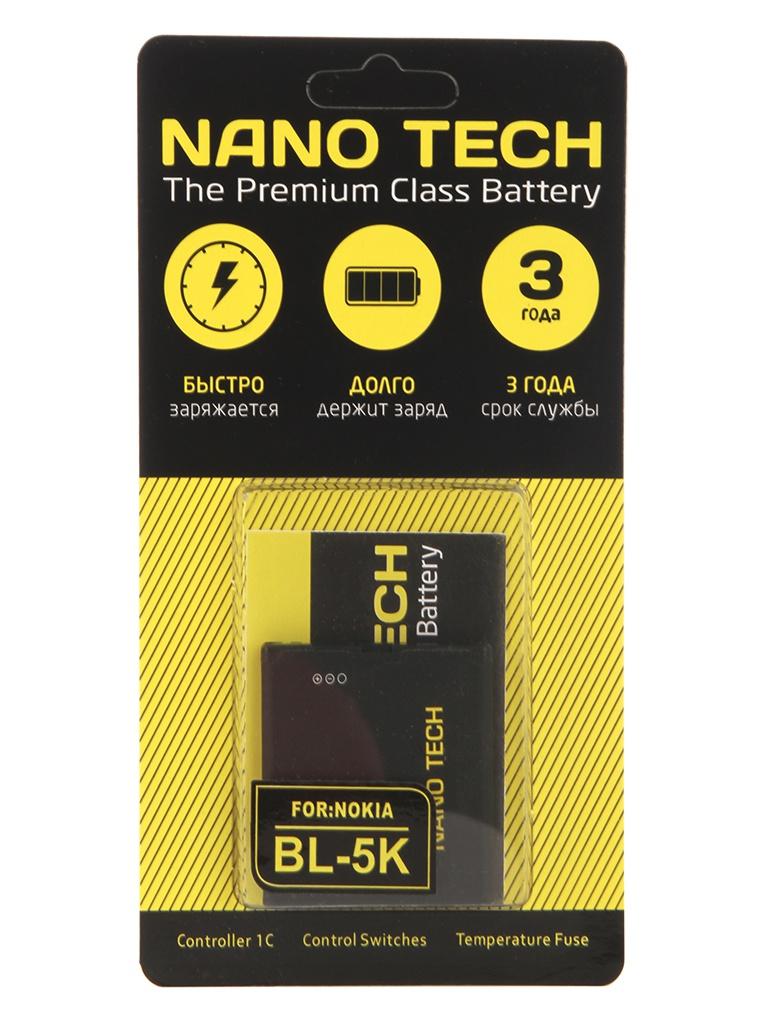 Фото - Аккумулятор Nano Tech (Аналог BL-5K) 1200 mAh для Nokia N85/N86 акб nokia bl 4c 890 li ion для nokia 2650 2652 5100 6100 6101 6102