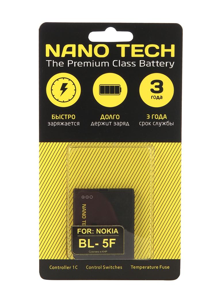 Аккумулятор Nano Tech (схожий с BL-5F) 950 mAh для Nokia N95 стоимость