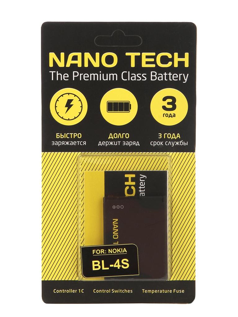 Аккумулятор Nano Tech (схожий с BL-4S) 860 mAh для Nokia 7610/X3-02/7100/3600 стоимость