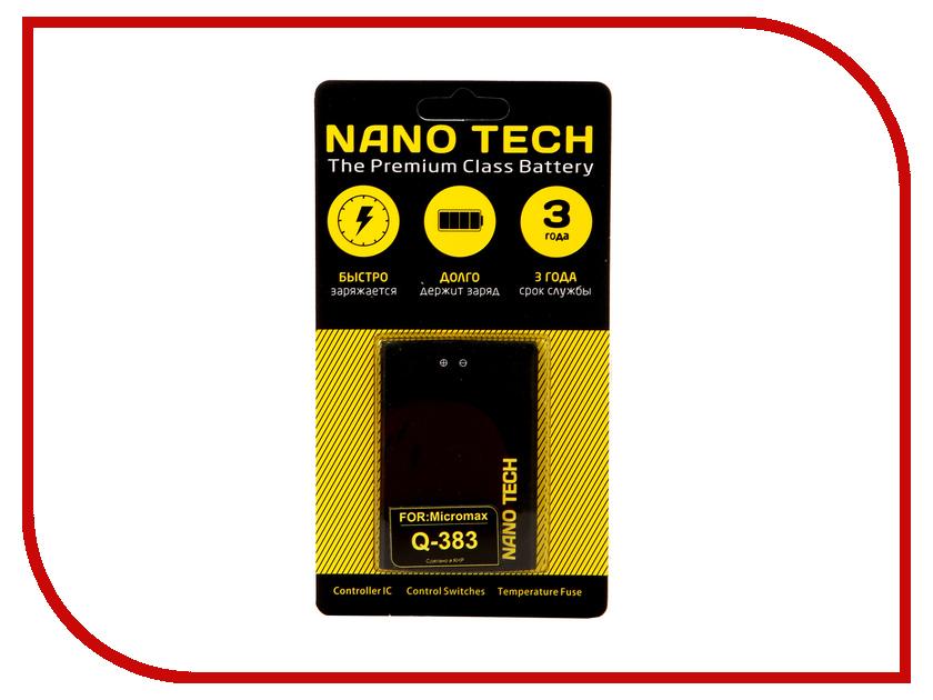 Аккумулятор Nano Tech 1800 mAh для Micromax Q383
