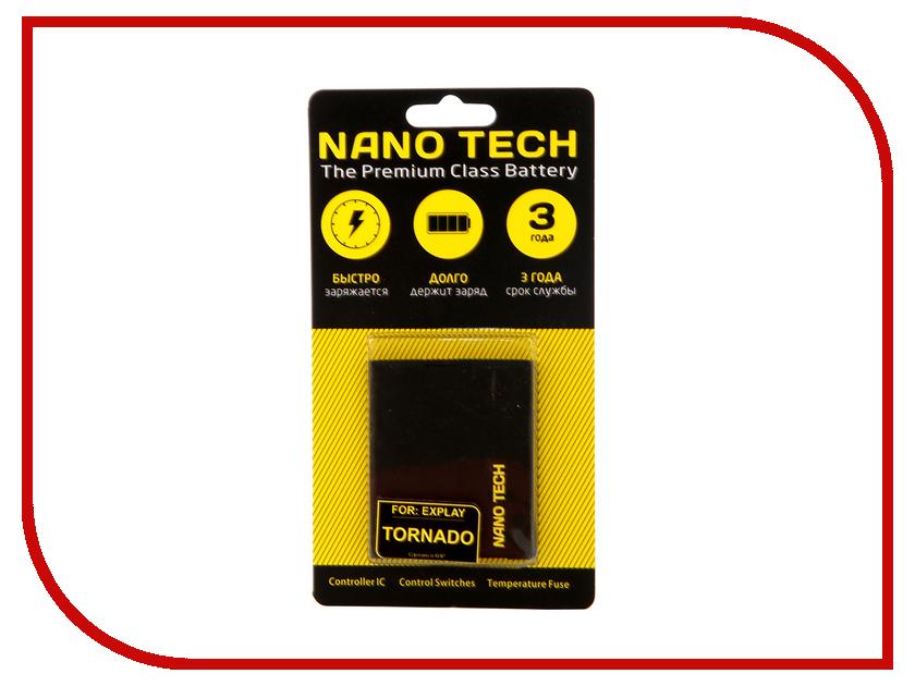 Фото - Аккумулятор Nano Tech 1550mAh для Explay Tornado hi fi стойка solid tech ros 2 regular cherry