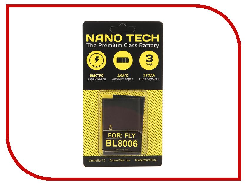 Аккумулятор Nano Tech (Аналог BL 8006) 1600mAh для Fly DS133 цена и фото