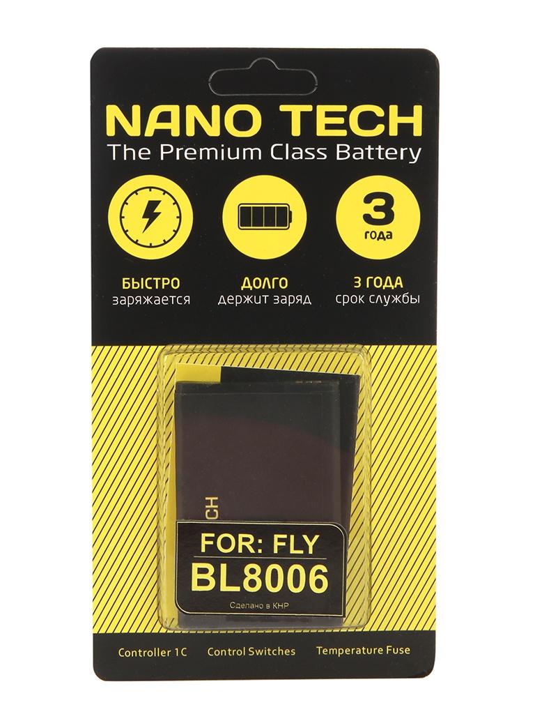 Аккумулятор Nano Tech (Аналог BL 8006) 1600mAh для Fly DS133 цена