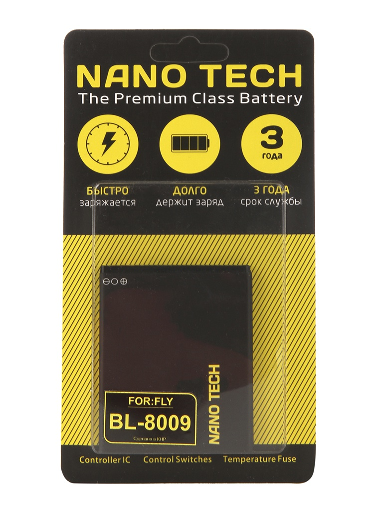 Аккумулятор Nano Tech 1800mAh для Fly FS451 Nimbus 1