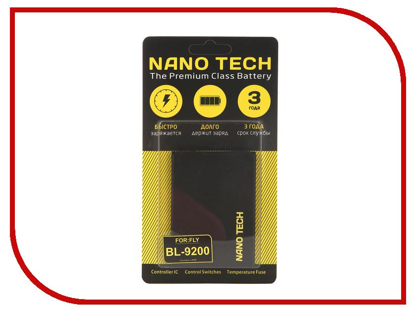 Аккумулятор Nano Tech (Аналог BL 9200) 2000mAh для Fly FS504 Cirrus 2 аккумулятор nano tech 2900mah для apple iphone 7 plus