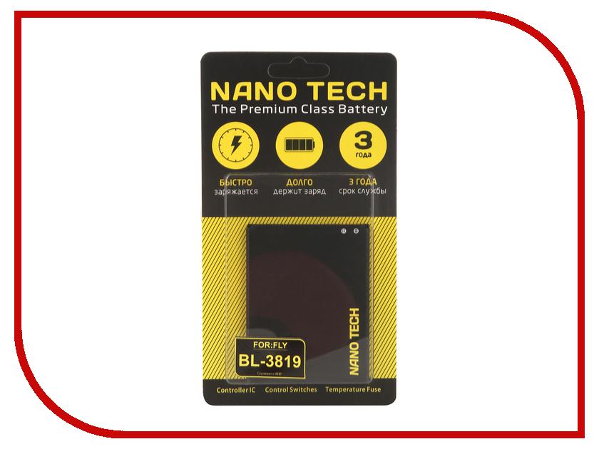 Аккумулятор Nano Tech (Аналог BL 3819) 2000 mAh для Fly Q4514 Quad Evo Tech 4 аккумулятор evo р05 6540mah