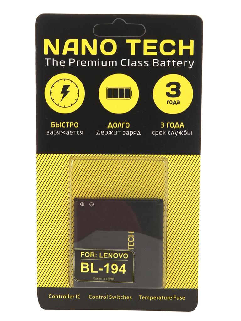 Аккумулятор Nano Tech 1500mAh для Lenovo A520/A780/A690/A660