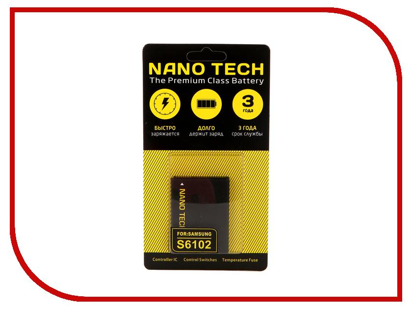 Аккумулятор Nano Tech (Аналог EB464358VU) 1300mAh для Samsung Galaxy S6102/S6500/S6790/S6802/S7500