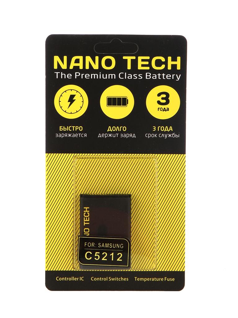 Аккумулятор Nano Tech 1000mAh для Samsung Galaxy GT-C5212 DuoS