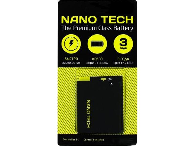 Аккумулятор Nano Tech (схожий с AB533640AEC) 750mAh для Samsung Galaxy S3600/G600/J770/F490 аккумулятор nano tech аналог ab603443cu 1000mah для samsung galaxy s5230 star g800 l870