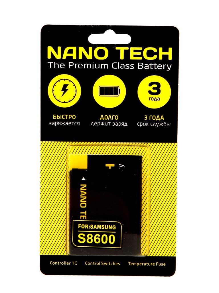 Аккумулятор Nano Tech (схожий с EB484659VU) 1450mAh для Samsung S8600/GT-i8150 Galaxy W аккумулятор nano tech аналог ab603443cu 1000mah для samsung galaxy s5230 star g800 l870