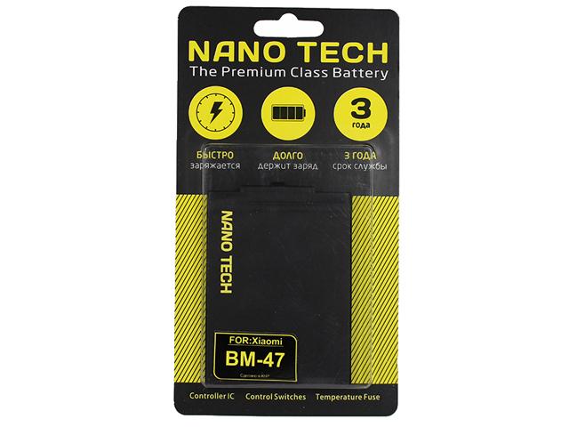 Аккумулятор Nano Tech 4000mAh для Xiaomi Redmi 3X/3S/ M3 Pro