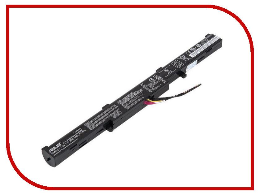 Аккумулятор Zip 44Wh 15V 425239 для Asus X450J/X450JF/X751/X751M/X751L