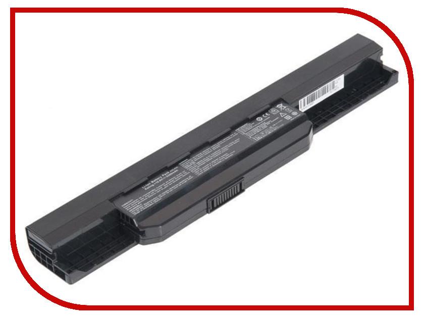 Аккумулятор Zip 10.8V 4400mAh 324404 для Asus A43/A53/K43/K53/X43/X44/X53/X54 yuxi ac dc power jack connector plug socket for asus a52 a53 k52 k53 u52 x52 x54 x54c u52f series 2 5mm pin 10x