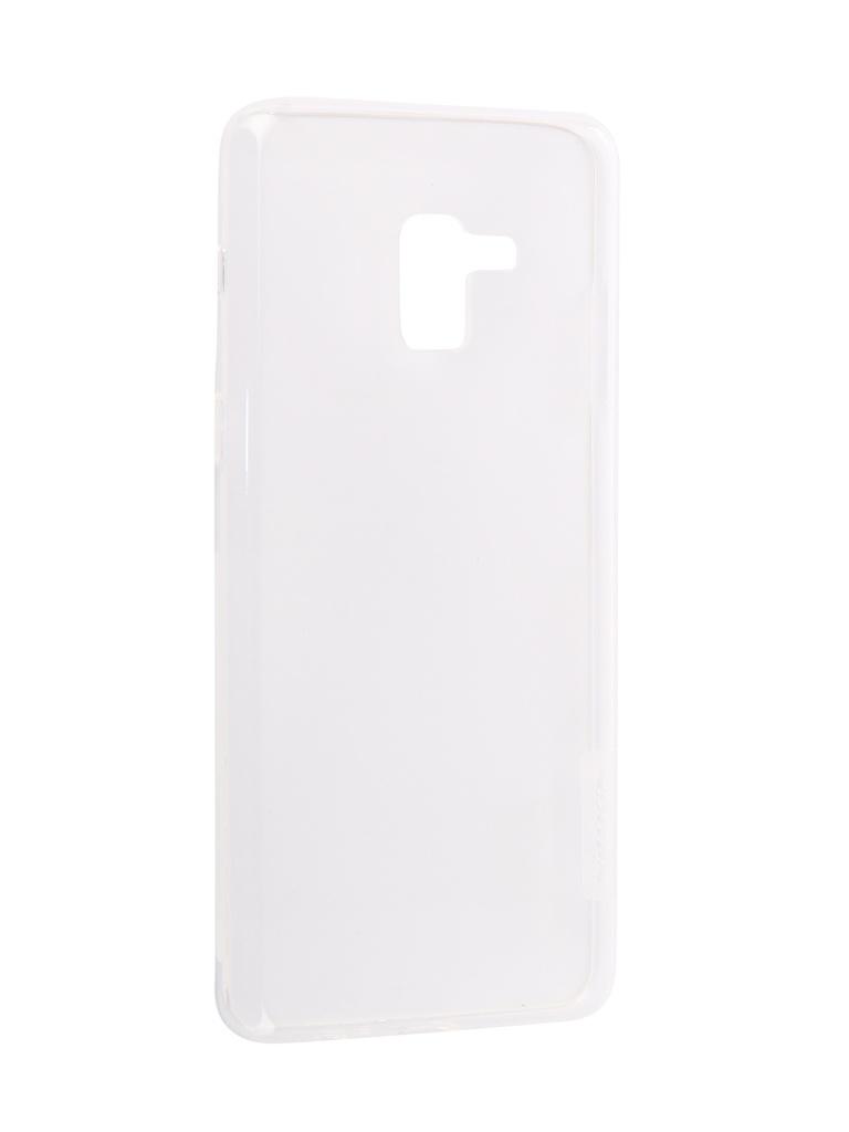 Чехол Nillkin для Samsung Galaxy A8 Plus 2018 Nature TPU Case White