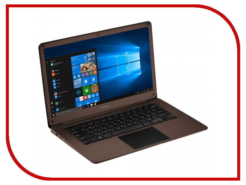 Ноутбук Prestigio SmartBook 141 C2 Dark Brown PSB141C02ZFH_DB_CIS (Intel Celeron N3350 1.1 GHz/3072Mb/32Gb SSD/Intel HD Graphics/LAN/Wi-Fi/Bluetooth/Cam/14.1/1920x1080/Windows 10 Home) ноутбук krez n1304 black intel celeron n3350 1 1 ghz 3072mb 32gb no odd intel hd graphics wi fi bluetooth cam 13 3 1920x1080 windows 10 pro