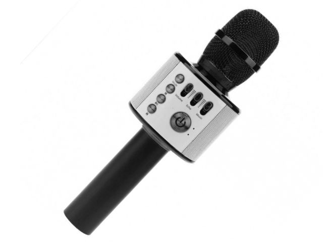 Караоке Handheld KTV Q37B Black караоке handheld ktv ws 1816r red