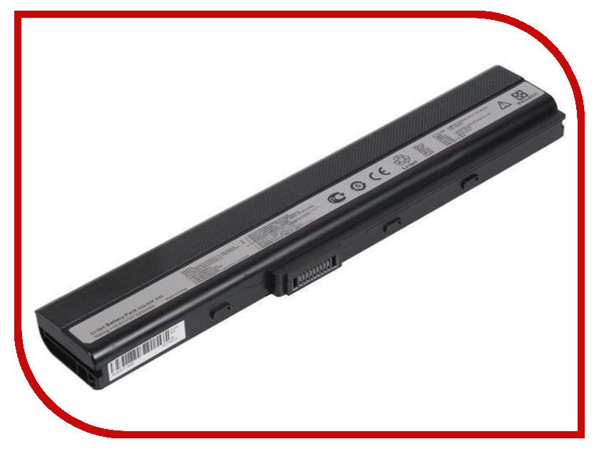 Аккумулятор Zip 10.8V 4400mAh 431902 для Asus A40/A40J/A42/A62/A50/A52A/A52JB аккумулятор zip 11 1v 4400mah 107299 для asus m50 m60 g50 g51 g60 vx5 l50 x55 pro56 pro72 n61 x64