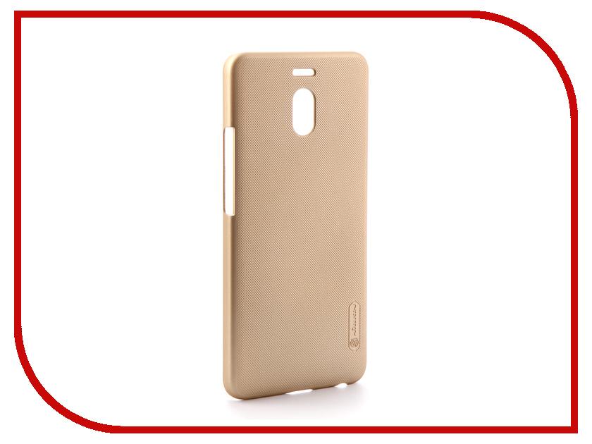 Аксессуар Чехол для Meizu M6 Note Nillkin Super Frosted Shield Gold T-N-MM6N-002 смартфон meizu m6 note m721h 32gb