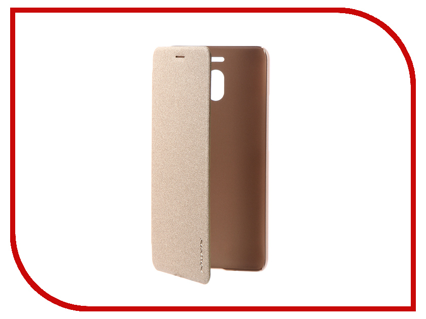 Аксессуар Чехол для Meizu M6 Note Nillkin Sparkle Leather Case Gold кабель удлинитель для монитора vga 15m 15f 3 0м
