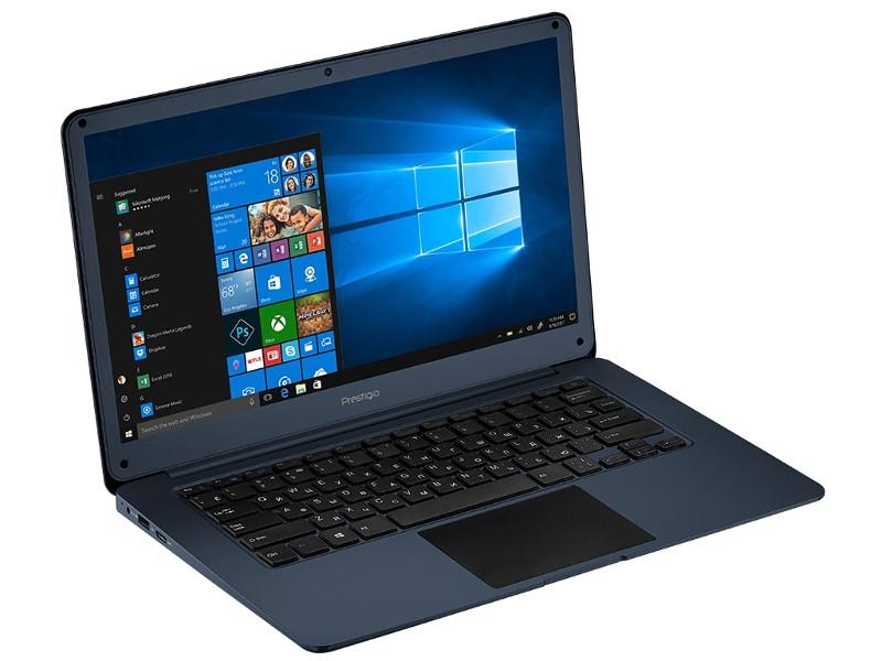 Ноутбук Prestigio SmartBook 141 C2 Blue PSB141C02ZFH_BB_CIS (Intel Celeron N3350 1.1 GHz/3072Mb/32Gb SSD/Intel HD Graphics/LAN/Wi-Fi/Bluetooth/Cam/14.1/1920x1080/Windows 10 Home) ноутбук prestigio smartbook 133s psb133s01zfh bb intel celeron n3350 1100 mhz 13 3 1920х1080 3072mb 32gb hdd dvd нет intel® hd graphics 500 wifi windows 10 home