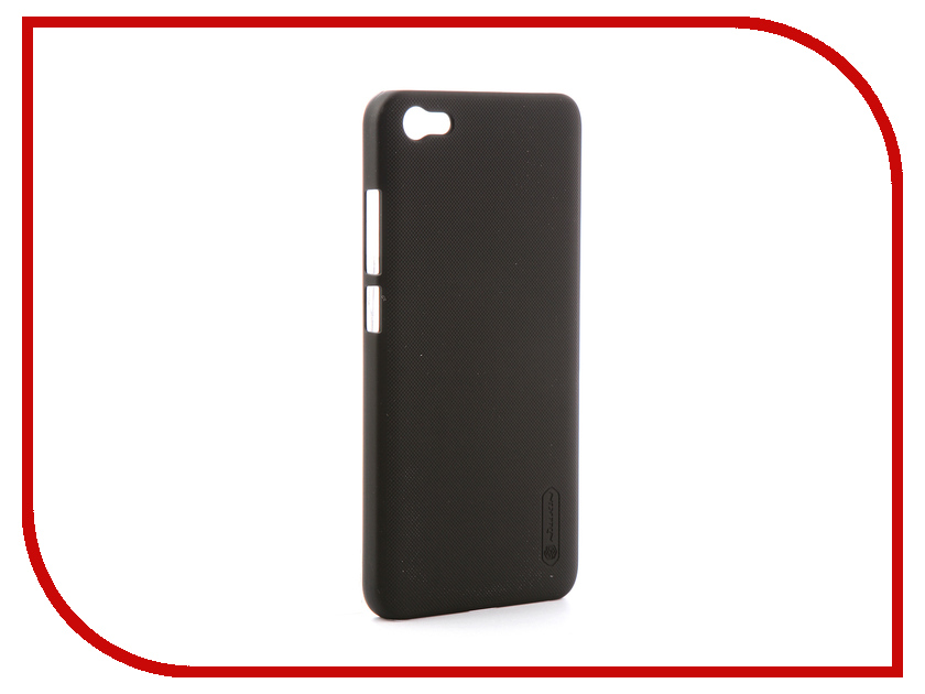 Аксессуар Чехол для Xiaomi Redmi Note 5A Nillkin Super Frosted Shield Black аксессуар чехол xiaomi mi6 brosco silicone black xm mi6 tpu black