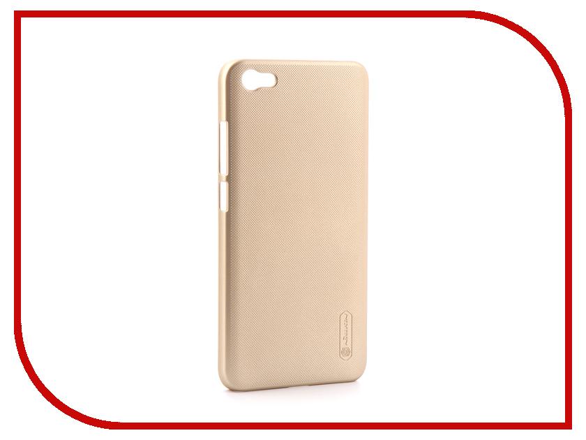Аксессуар Чехол для Xiaomi Redmi Note 5A Nillkin Super Frosted Shield Gold