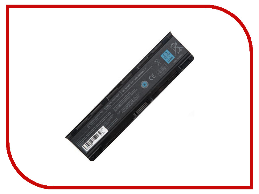 Аккумулятор RocknParts Zip 10.8V 5200mAh для Toshiba Satellite C800/C840/C850/C870/L830/L840/L850/L870/P840/P850/P870 432094 nokotion for toshiba satellite c850 c850d laptop motherboard ddr3 cpu onboard mainboard h000042200