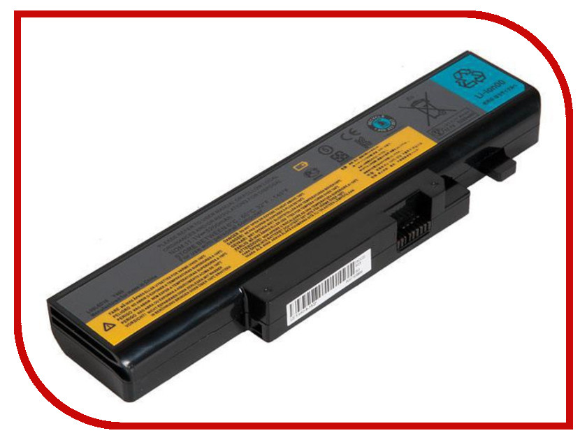 где купить Аккумулятор RocknParts Zip 11.1V 5200mAh для Lenovo IdeaPad B560/B560A/B560G/V560/V560A/V560G/Y460 458373 дешево