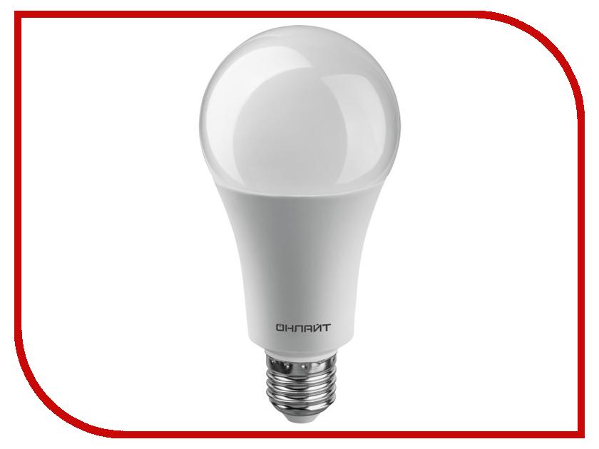 Лампочка ОнЛайт 61 955 OLL-A70-25-230-6.5K-E27 лампочка онлайт 71 645 oll g45 6 230 2 7k e27