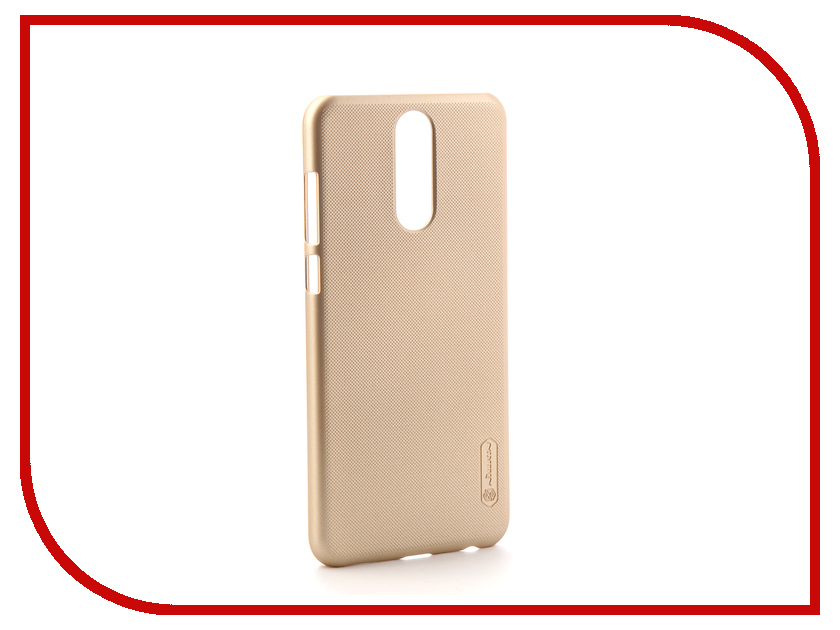 Аксессуар Чехол для Huawei Nova 2i Nillkin Super Frosted Shield Gold стоимость
