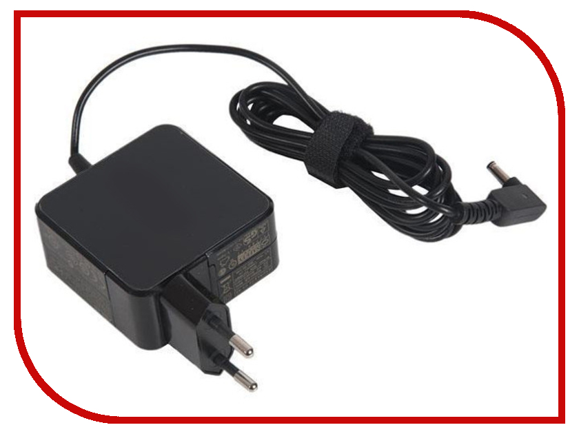 Блок питания Zip 19V 1.75A 33W 435026 для Asus VivoBook S200E/X201E/Taichi 21 laptops replacements lvds lcd cable fit for asus x201e x201l x201s x202e q200e s200e lcd video screen cables