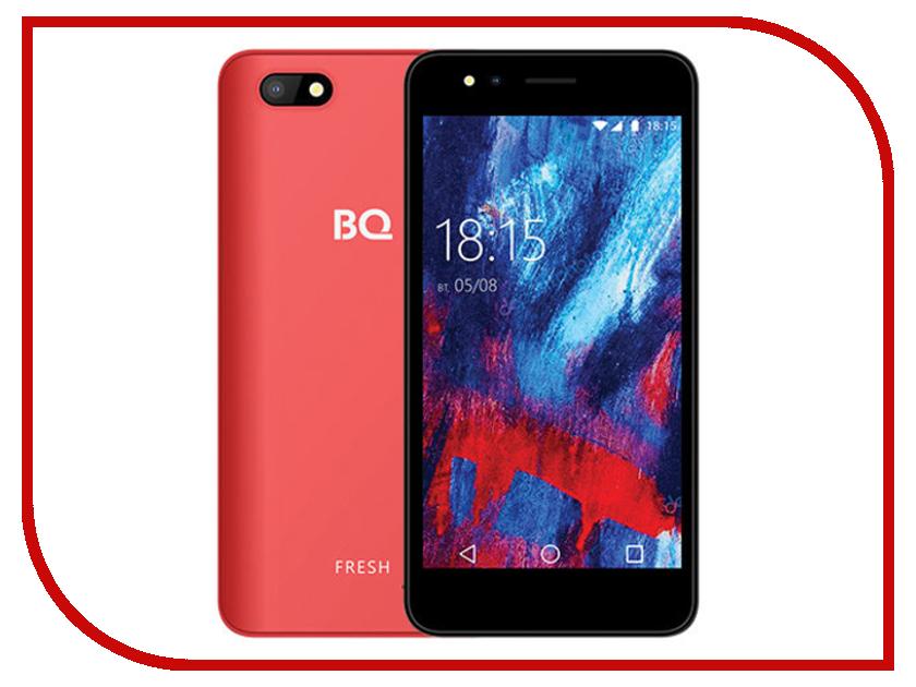 Сотовый телефон BQ 5056 Fresh Coral Red сотовый телефон bq bq 5000l trend red