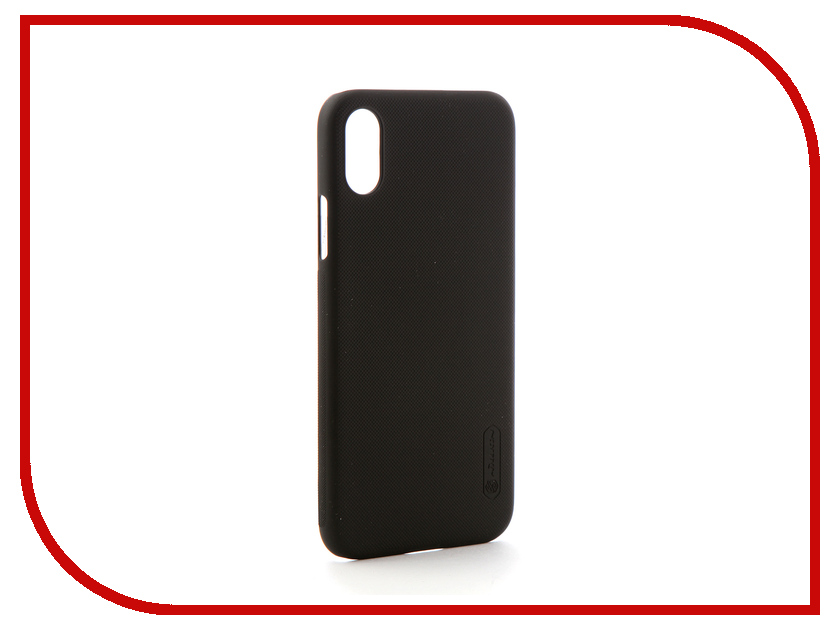 Аксессуар Чехол Nillkin Super Frosted Shield для Apple iPhone X Black protective matte frosted back case for htc one x s720e black