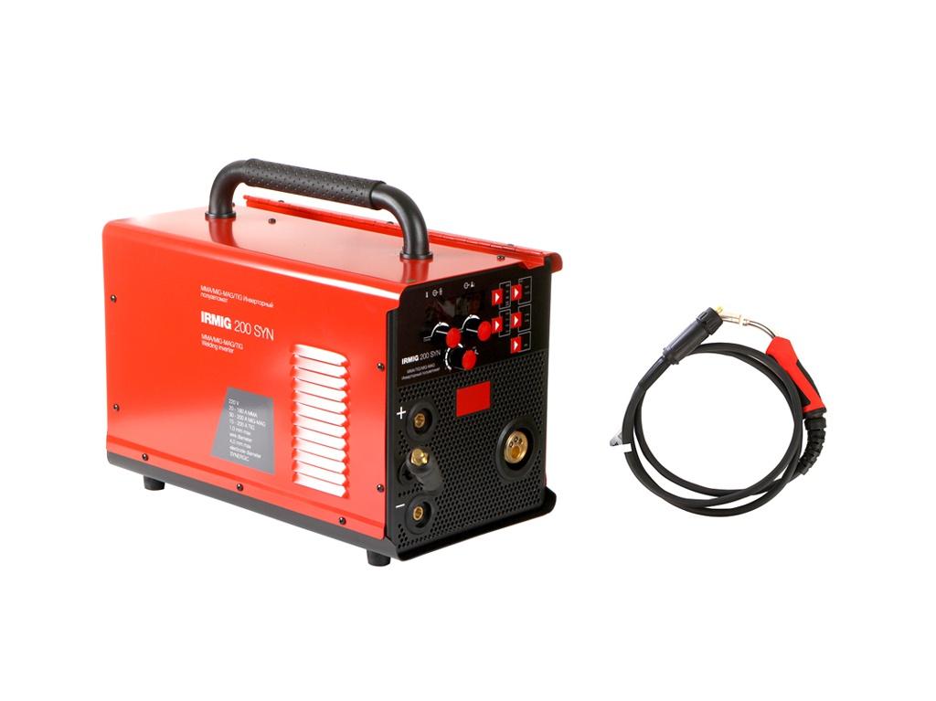 Сварочный аппарат Fubag Irmig 200 SYN (31447.1) + горелка FB 250 3m (38443)