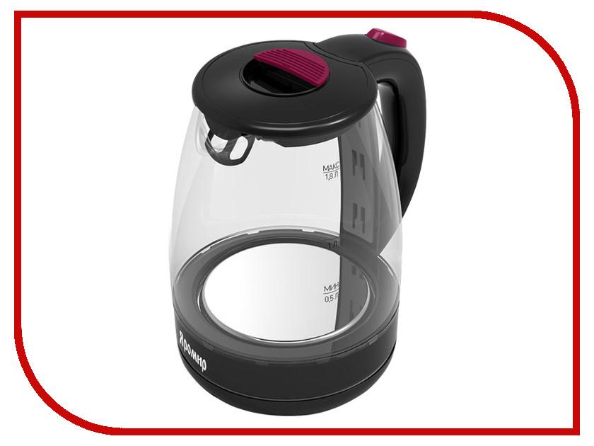 Чайник Яромир ЯР-1031 Black-Crimson яр салатовый цв 793
