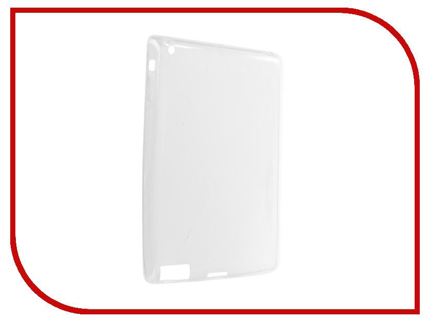 Аксессуар Чехол Zibelino Tablet Clear для Apple iPad 3/4 White ZTC-IPAD4-WHT grassroot 9 7 inch tablet lcd screen for ipad4 ipad 4 ipad3 ipad 3 replacement lcd screen display