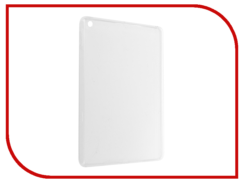 Аксессуар Чехол для APPLE iPad 9.7 2017 Zibelino Tablet Clear White ZTC-IPAD9.7-2017-WHT