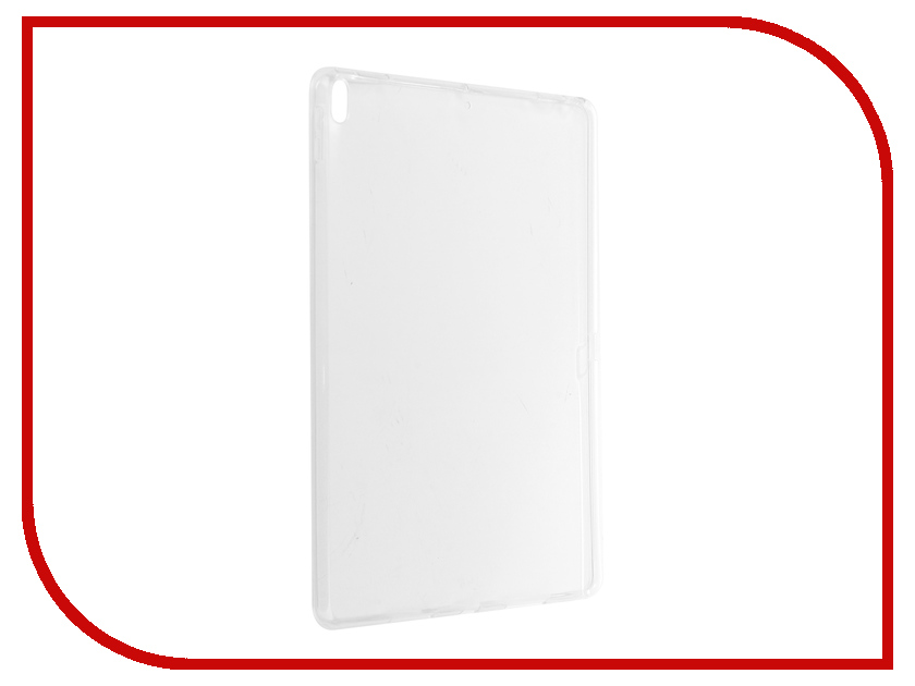 Аксессуар Чехол Zibelino Tablet Clear для Apple iPad Pro 2017 10.5 White ZTC-IPAD-PRO10.5-WHT стилус other apple ipad samsung galaxy s3 i9300 21 eg0628