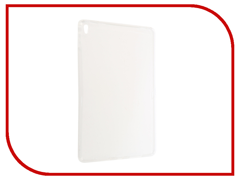 Аксессуар Чехол Zibelino Tablet Clear для Apple iPad Pro 9.7 White ZTC-IPAD-PRO9.7-WHT soft shockproof for new ipad pro 10 5 2017 released tablet liner sleeve pouch bag for ipad 10 5 inch a1701 a1709 tablet cover
