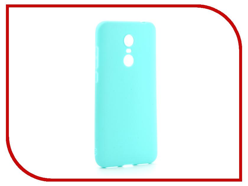 цена на Аксессуар Чехол-накладка для Xiaomi Redmi 5 Plus Gurdini Ultra Slim Silicone Mint