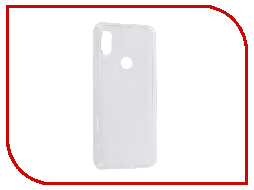 Аксессуар Чехол-накладка для Xiaomi Redmi S2 Gurdini High-tech Silicone Transparent 906202