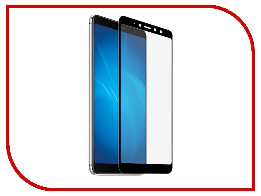 Аксессуар Стекло противоударное для Xiaomi Redmi S2 Gurdini 2.5D Full Glass 0.26mm Black 906234 аксессуар защитное стекло для xiaomi redmi s2 neypo full screen glass npg4394