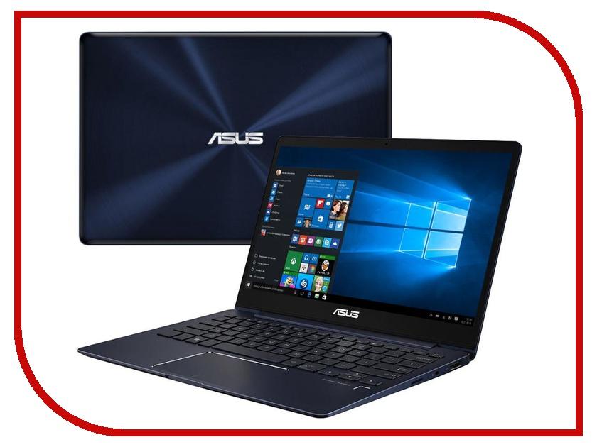 Ноутбук ASUS UX331UA-EG084T 90NB0GZ1-M03750 Royal Blue (Intel Core i7-8550U 1.8 GHz/8192Mb/512Gb SSD/No ODD/Intel HD Graphics/Wi-Fi/Bluetooth/Cam/13.3/1920x1080/Windows 10 64-bit) ноутбук asus ux391ua et085r 90nb0d94 m04660 intel core i7 8550u 1 8 ghz 8192mb 512gb ssd no odd intel hd graphics wi fi bluetooth cam 13 3 1920x1080 windows 10 64 bit